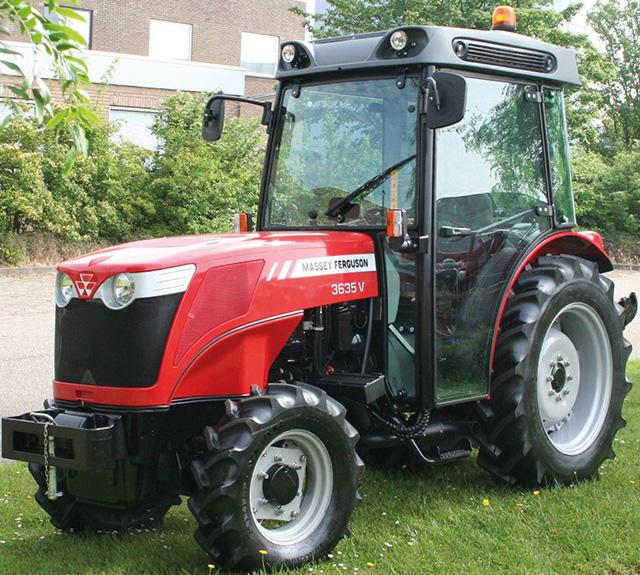 Massey Ferguson 3600 V ültetvény traktor
